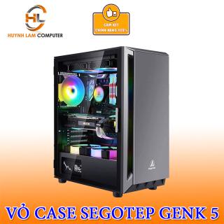 Vỏ Case segotep case Gank 5 Xám Gaming kính cường lực (hình ảnh mang tính chất minh họa) thumbnail
