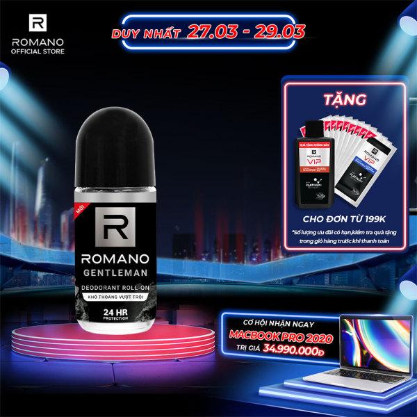 Lăn khử mùi Romano Gentleman 50ml