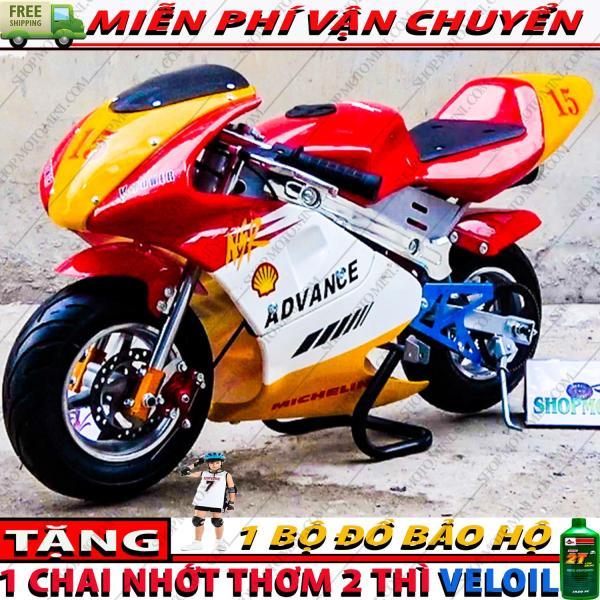 Mua Moto mini 50cc giá rẻ tphcm | Shop xe cào cào 2 thì trẻ em | Bán mô tô ruồi 49cc gắn máy cắt cỏ chạy bằng động cơ xăng pha nhớt 2 thì | Xe moto mini Tam Mao