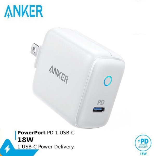 Sạc ANKER PowerPort PD 1 cổng 18W - A2019