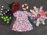01 Váy cotton cho bé gái 11-13kg ( Mầu sắc bất kỳ)