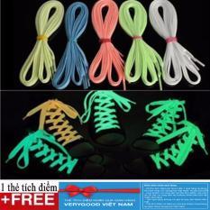 Hình ảnh 1 Đôi dây buộc giày phát quang + Tặng kèm thẻ tích điểm Verygood