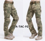 2017 Hot Sale Cargo Pants Camouflage Tactical Army Pants Combat Multicam Militar Tactical Pants With Knee Pads S Fg Intl Chiết Khấu Bình Dương
