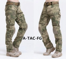 2017 Hot Sale Cargo Pants Camouflage Tactical Army Pants Combat Multicam Militar Tactical Pants With Knee Pads S Fg Intl Bình Dương