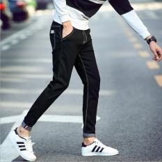 2NE1 nam thun đôi chân bé nhỏ quần-Đen-quốc tế