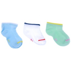 Hình ảnh 3 Pairs Baby boy girls Socks kids Socks Soft Cotton Children Infant Socks - intl