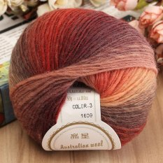 5Pcs 50G Yarn Ball Super Soft Cashmere Baby Natural Smooth Bamboo Cotton Knitting Intl Rẻ