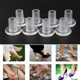 MỘT cặp Nhựa giày Cao Gót nữ gót nhọn Bảo Vệ gót bọc-quốc tế