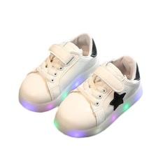 Hình ảnh Giày thể thao thời trang hiệu Amart có đế mềm gắn đèn LED phát sáng-quốc tế
