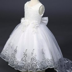 Hình ảnh Amart Bé Gái Hoa Cuộc Thi Đầm Bé Gái Ren Tutu Công Chúa Váy Dạ Hội Dự Tiệc Cưới-quốc tế