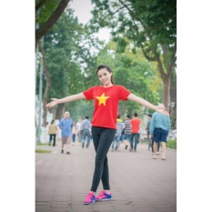 Hình ảnh Áo cờ đò sao vàng tự hào Việt Nam