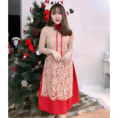 Ôn Tập Ao Dai Cach Tan Ren Kem Vay