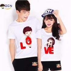 Hình ảnh Áo đôi áo cặp OCN hình LOVE