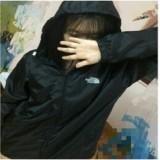 áo gió 2 lớp lót lụa(màu đen)