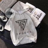 Mã Khuyến Mại Ao Hoddie Cộc Tay Logo Tfboys Đẹp Nhất Rẻ