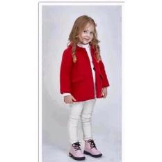 Giá bán Aó khoác dạ đỏ bé gái
