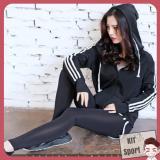 Ao Khoac Dai Tay Thể Thao Nữ Air Hang Nhập Khẩu Đồ Tập Quần Ao Gym Thể Dục Thể Hinh Yoga Kit Sport Hà Nội Chiết Khấu