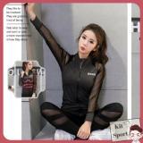 Bán Ao Khoac Dai Tay Thể Thao Nữ Power Hang Nhập Khẩu Đồ Tập Quần Ao Gym Thể Dục Thể Hinh Yoga Kit Sport Rẻ Hà Nội