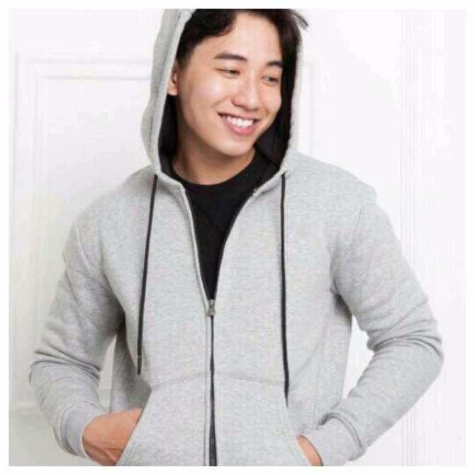 Áo khoác hoodie nam (xám)
