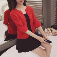 Chiết Khấu Ao Khoac Len Nữ Cardigans Phong Cach Han Quốc Hk Shop
