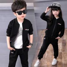 Hình ảnh Áo Khoác Trẻ Em Kaki 3684( Màu đen)