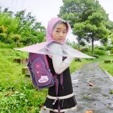 Áo mưa dù (ô) cho trẻ em - thiết kế độc đáo (màu hồng) Size S