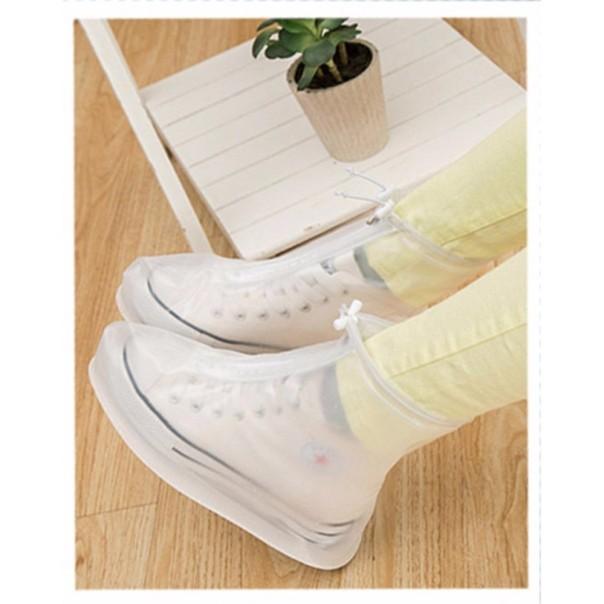 Áo mưa giày bảo vệ giày chống trơn trượt (Full size) giá rẻ