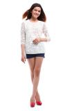 Bán Ao Phối Lưới139 Fashion Apl003 Kem Rẻ Trong Vietnam