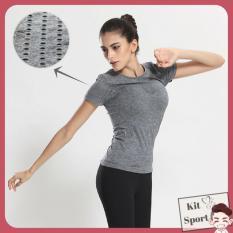 Mua Ao Thun Nữ Thể Thao Power Hang Nhập Khẩu Đồ Tập Quần Ao Gym Thể Dục Thể Hinh Yoga Kit Sport Hà Nội