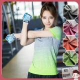 Mã Khuyến Mại Ao Thun Nữ Thể Thao Roht Hang Nhập Khẩu Đồ Tập Quần Ao Gym Thể Dục Thể Hinh Yoga Kit Sport