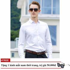 Ao Sơ Mi Cong Sở Nam Dai Tay Tặng Kinh Mat Thời Trang Nam Phong Gift Men Somi 200001 W Việt Nam Chiết Khấu 50
