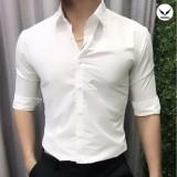 Chiết Khấu Ao Sơ Mi Nam Cong Sở Vải Lụa Chống Nhăn Ant02 Trắng Trenda Trong Việt Nam