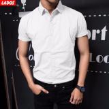 Mua Ao Sơ Mi Nam Kaki Tay Ngắn Lados 558 Trắng Lado Fashion
