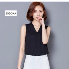 Mua Ao Sơ Mi Sat Nach Kiểu Han Quốc Sieu Hot Sodoha Smn26509 Black Sodoha Rẻ