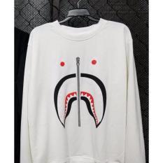 Giá Bán Ao Sweater Bape Shark Ca Mập Ao Bape Tay Dai Oem Nguyên