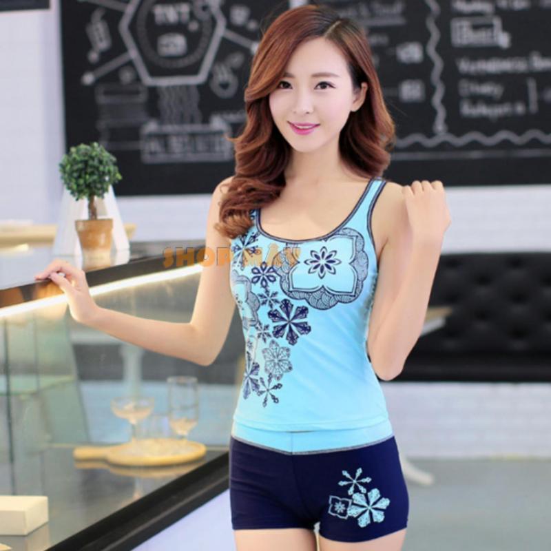 Nơi bán Áo Tắm Hoa Lan Khoe Dáng AT042 (Xanh)