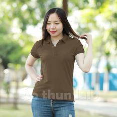 Ao Thun Cổ Trụ Nữ Lulo Nau Hồ Chí Minh