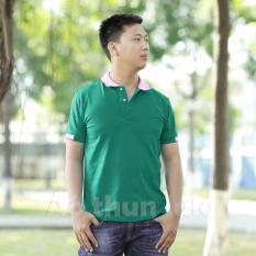 Bán Mua Ao Thun Nam Cổ Trụ Xanh Lý Phối Bo Mắt Chim Mới Hồ Chí Minh