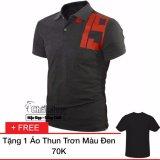 Bán Ao Thun Nam In Số Cach Điệu Đen Tặng 1 Ao Thun Trơn Đen Trực Tuyến Hồ Chí Minh