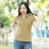 Mua Ao Thun Nữ Cổ Trụ Lulo Ca Phe Hồ Chí Minh