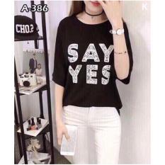 Chiết Khấu Ao Thun Nữ Thời Trang Say Yes Free Size None Hồ Chí Minh