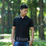 Giá Bán Ao Thun Sơ Mi Nam Active Đen Nguyên Lulo