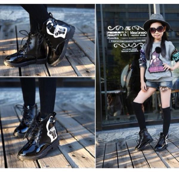 Giá bán B01DE - Giày bốt thời trang cho bé gái