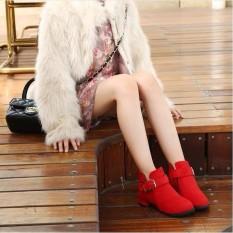 Hình ảnh B07DO - Giày boot cho bé phong cách hàn quốc