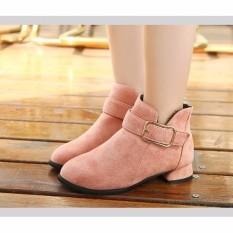 Giá bán B07H  -  Giày boot cho bé phong cách hàn quốc