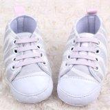 Kid cho bé Gái Sơ Sinh Cho Bé Da Báo Đế Mềm Giày Prewalker Giày Cũi MÀU TRẮNG-quốc tế
