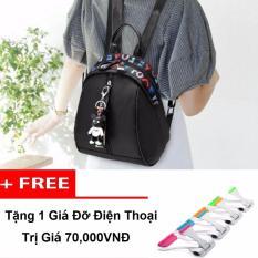 Giá Bán Balo Cho Nang Trẻ Trung Năng Động Thời Trang Tặng Kem Gấu Va Gia Đỡ Điện Thoại Nhãn Hiệu No Brand