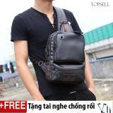Bán Mua Balo Da Đeo Cheo Cho Nam Ca Tinh Han Quốc Kb Dd01 Size To Tặng Tai Nghe Ripper Đen