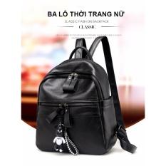 Mua Balo Nữ Thời Trang D8006 Mau Đen Trực Tuyến Hà Nội