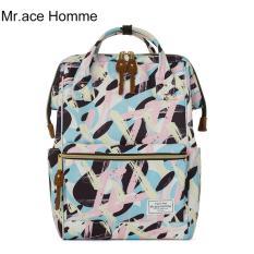 Mua Balo Thời Trang Mr Ace Homme Mr16B0338B01 Xanh Phối Hồng Trực Tuyến